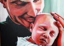 Tim Bosma & daughter