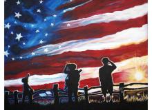 Freedom Sunrise-H.O.N.O.R.S. Charity Piece
