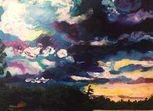 Sunset at Ahmic II